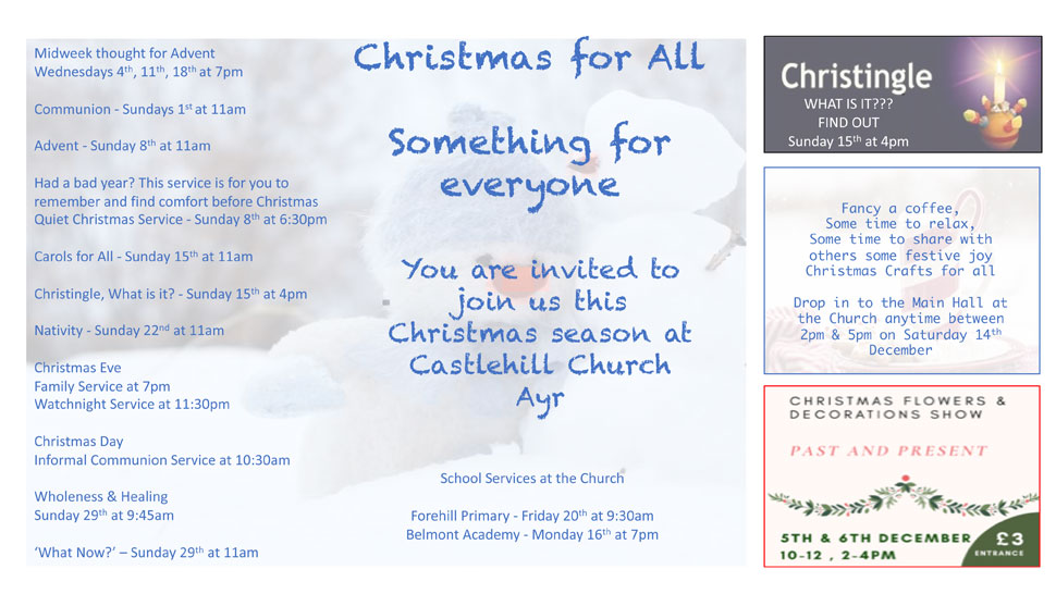 Christmas at Castlehill Church
