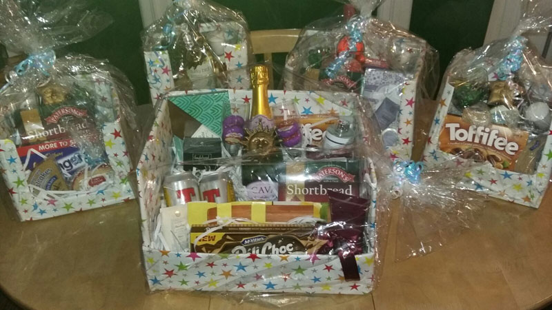 HAPPY HAMPERS. Citadel, Ayr on Saturday, 10th September 2016