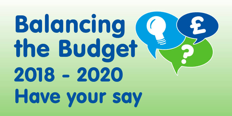 HAVE YOUR SAY ON BALANCING THE BUDGET