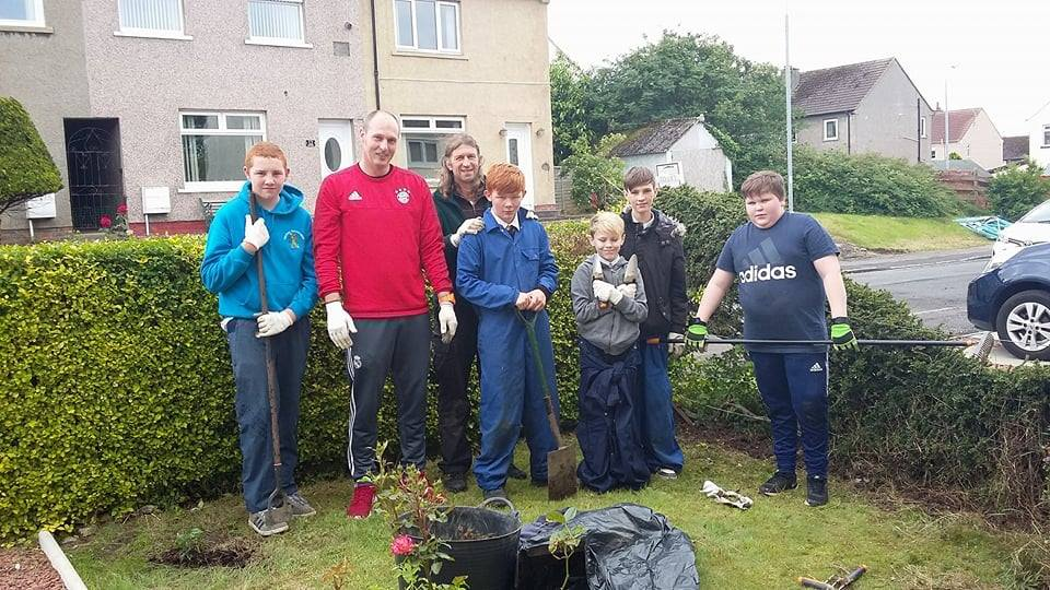 Kyle Academy Pupils Spring Into Action