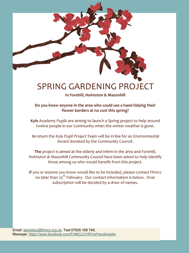 SPRING GARDENING PROJECT