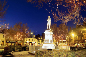 Hurray — free parking in Ayr town centre every weekend in December!arden Competition